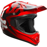 Capacete Trilha Fox Vf1 15 Red Size M (57-58) Motocross As W