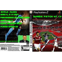 Bomba Patch Brasileirão Winning Eleven Série A,b,c,d Play2