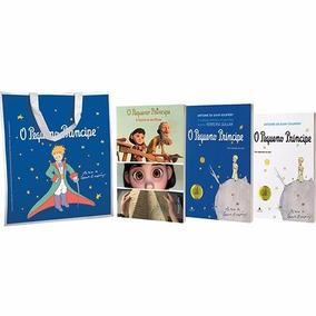 Kit 3 Livros O Pequeno Príncipe + Bolsa Exclusiva