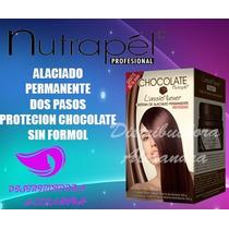 Kit Alaciado Permanente Chocolate Nutrapel