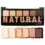 Paleta De Sombras Nude Natural Nyx
