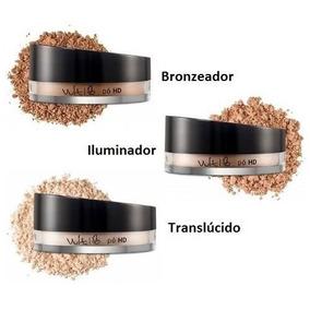 Pó Facial Hd Vult Bronzeador/translúcido/iluminador - 1 Unid