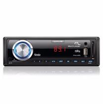 Rádio 7 Cores Led Automotivo Multilaser Mp3 Usb Wave Fiesta