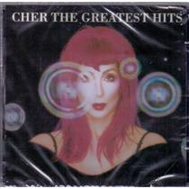 Cd Cher - The Greatest Hits - Novo***