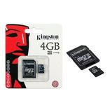Memoria Kingston Micro Sd Hc 4 Gb - Oportunidades-vip