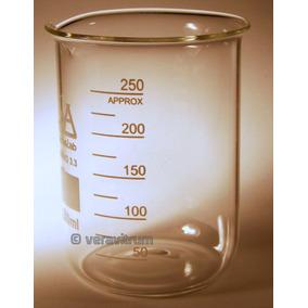 Vaso Precipitado 250ml Vidrio Borosilicato Laboratorio