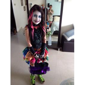 Disfraz Eskelita Calavera Monster High Con Peluca