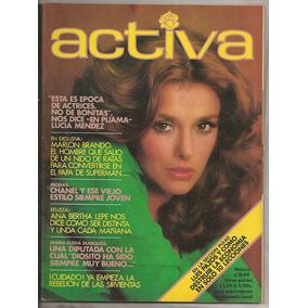 Revista Activa Lucía Méndez 1977