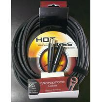 Cables Para Microfonos Hot Wires Canon-canon 7.62 Metros
