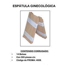 Espátula Ginecológica 14/500