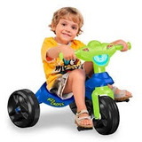 Kit 2 Velotrol Infantil Kid Cross Bandeirantes Promocao Fret