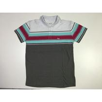 Camisa Polo Infantil 16 E 18 Anos Conforme Foto