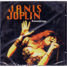 Cd Janis Joplin - 18 Essential Songs - Novo***