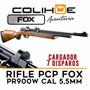 Rifle Pcp Fox Pr900w Cal 5,5mm + Cargador 7 Disparos