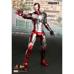 Iron Man Mark V Marvel 1/6 Hot Toys Cerrado En Caja Café