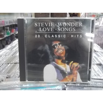 Stevie Wonder Minha História Internacional Love Hits Cd 1985
