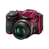 Camara Nikon Coolpix L830 16 Mp Cmos Digital Roja