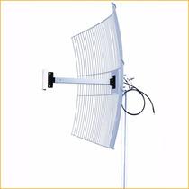Antena Direcional Aquário 2,4 Ghz 20 Dbi Cabo 1 Metro Sma