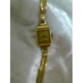 Reloj Antiguo De Oro Oris Mujer Macizo 16 Grs La Malla Sola