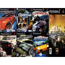 Need For Speed Carbon Play 2 (kit 7 Jogos Ps2 Corrida