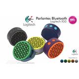 Caixa De Som Bluetooth Logitech X50 3w - Go - 1 Ano Garantia