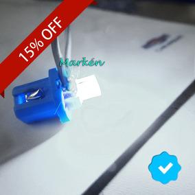 Kit 8 Lâmpada Led Branco Painel Celta Corsa Montana Meriva