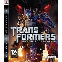 Transformers Revenge Of The Fallen Ps3 Nuevo Entrega Inmedia