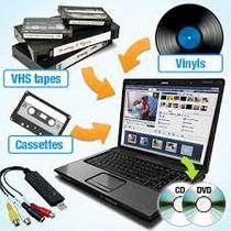 Conversor De Vídeos Vhs Para Dvd
