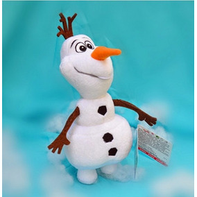 Boneco De Pelúcia Neve Olaf Frozen Disney 25cm Pront Entrega