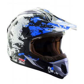Casco Cross Mx 433 Blast Oficial Enduro Ls2 Oficial