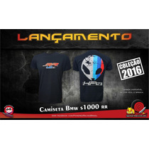 Nova Camiseta Bmw, S1000rr Powered 2016 Sombra Racing