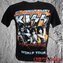 Camiseta Banda Rock Kiss Promoção Barato Frete Grátis
