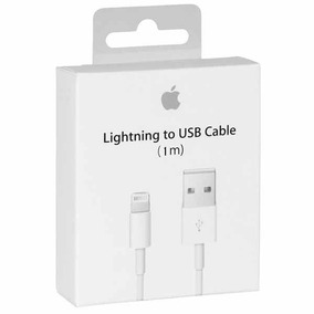 Cable Lightning Original Apple Iphone Ipad Ipod 1m