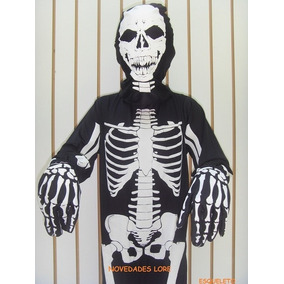 Disfraz Esqueleto Adulto Muerte Calavera Calaca Envio Gratis