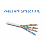Cable De Red Para Internet X5m Utp Módem Router Bsasb