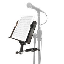Suporte Estante Ipad Tablet 7 A 10 P/ Pedestal Microfone
