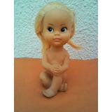 Muñeca Miko De Goma Años 70s. Exelente Estado