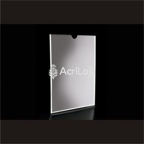 Kit C/10 Display A3 De Parede Acrílico A C/ Filete C/ Fundo