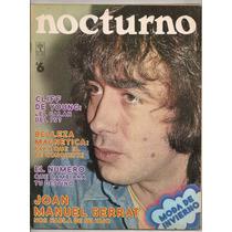Revista Nocturno Joan Manuel Serrat 1974