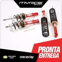 Chevrolet Gm Kadett Kit Suspensão Regulável Rosca Macaulay