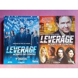 Leverage Acerto De Contas - Box Raro Dvd 1ª E 2ª Temporada