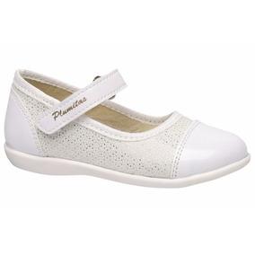 Guillerminas, Zapatos Para Nenas Con Abrojo. Plumitas