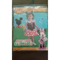 Disfraz De Minnie Mouse Para Niña.
