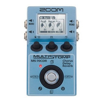 Pedal Pedaleira Zoom Multistomp Ms70cdr