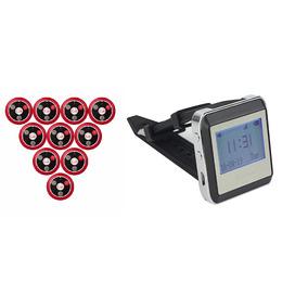 Relógio Chama Garçon Kit Com 10 Campainhas