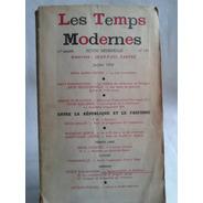 Les Temps Modernes Nº 149 1958 14º Anne J. P. Sartre Frances