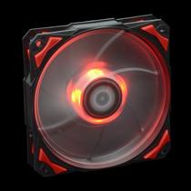 Cooler 120mm Pwm 2200rpm Id-cooling Leds Rojos Antivibracion
