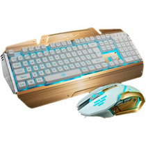 Teclado Y Mouse Gamer Retroluminado Combo Tienda