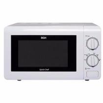 Microondas Bgh Quick Chef 20lts Mecanico Mod. B120m16 Blanc
