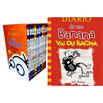 Box Diário De Um Banana Lacrado + Poster + Volume 11